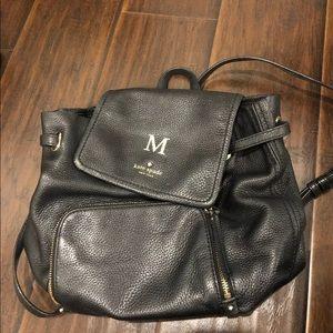 "Kate Spade ""M"" backpack"